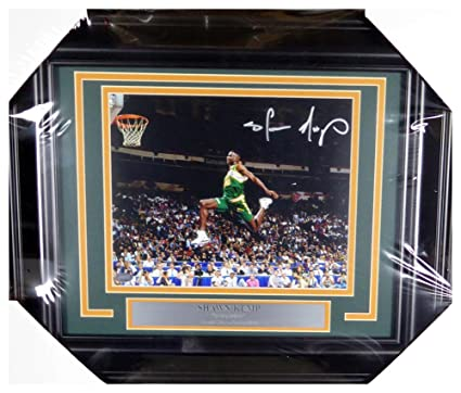 ec82219e4fdc5 Shawn Kemp Autographed Signed Framed 8x10 Photo Seattle Sonics ...