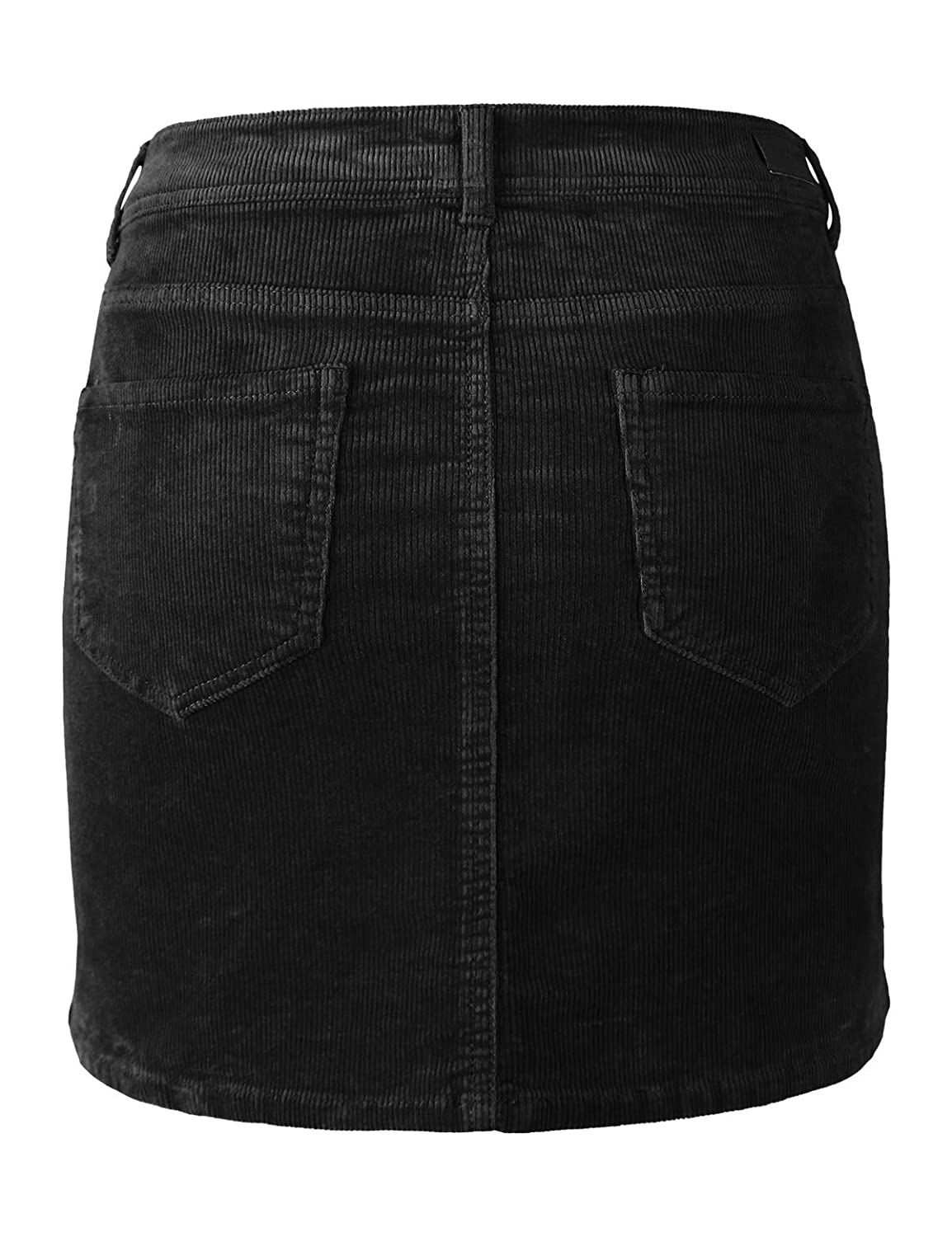 9634dbfe9f6cf6 makeitmint Women's Classic Casual Corduroy Mini Skirt w/Pockets [4 Colors]  at Amazon Women's Clothing store:
