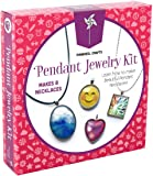Pinwheel Crafts Jewelry Making Kit for Girls - Jewelry Craft Kit, Custom Glass Pendant Necklace Set for Kids or Teen…