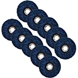 "10 Pack - 4-1/2"" x 7/8"" Strip&Clean Discs Fit For Angle Grinders-Removes Rust Strips Paint Cleans Welds"