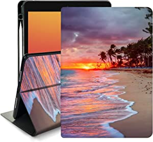 Memoly Case for New iPad 8th Generation Case iPad 10.2 Inch Case with Pencil Holder Multi-Angle Smart Stand Cover Case,Auto Wake/Sleep for iPad 8th Generation iPad 10.2