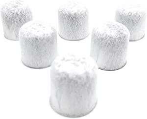 Blendin Replacement Charcoal Water Filters, Compatible with GE Coffee Makers (6 Pack)