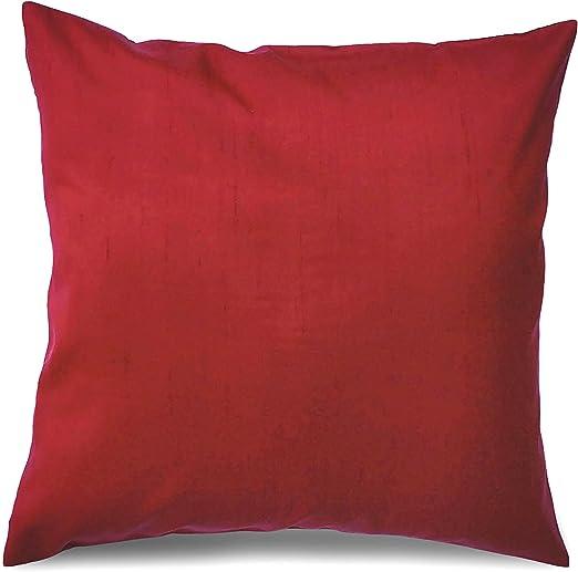Dupion Silk,Solid Maroon Color Dupioni Silk Fabric by yard,Polysilk Fabric