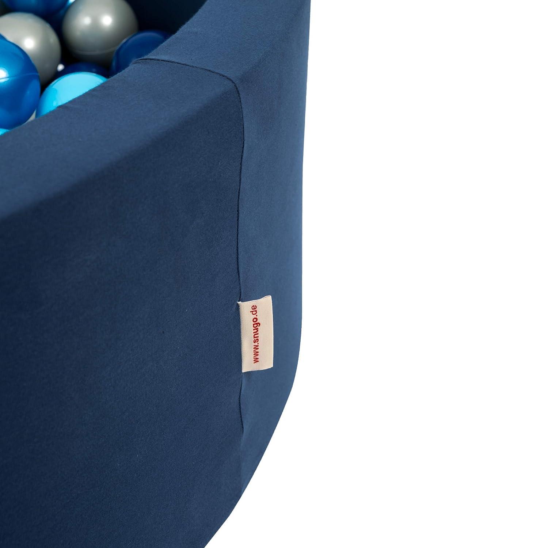 snugo Kinder B/ällebad WELTALL in dunkelblau mit /über 350 B/ällen-Made in Germany//Augsburg