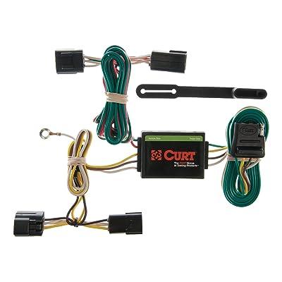 CURT 55360 Vehicle-Side Custom 4-Pin Trailer Wiring Harness for Select Honda Passport, Isuzu Amigo, Rodeo: Automotive