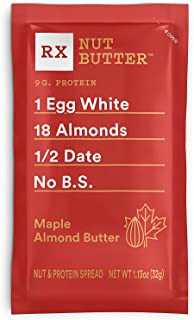 product image for RX Nut Butter, Maple Almond Butter, 10 Count, Keto Snack, Gluten Free