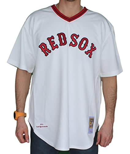 reputable site 637e7 66b79 Amazon.com : Mitchell & Ness Carl Yastrzemski Boston Red Sox ...