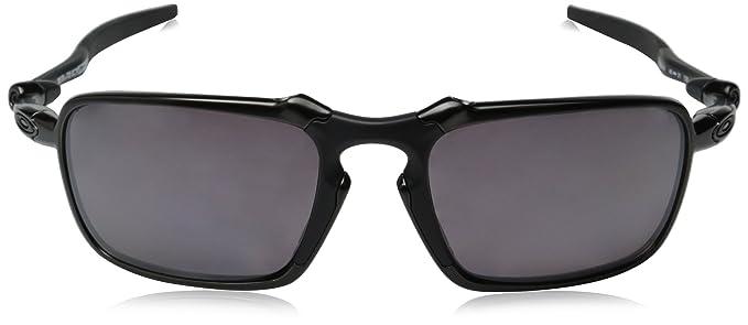 c431d8d0ff398 Amazon.com  Oakley Men s Badman OO6020-06 Polarized Rectangular Sunglasses