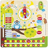 ColorBaby - Juego educativo de madera Búhos (42737)