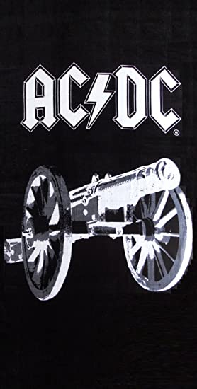 AC/DC Rock Serviette de plage: Amazon.fr: Cuisine