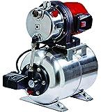 Einhell Groupe de surpression GC-WW 1250 NN (1200 W, Débit max. 5.000 l/h, Hauteur de refoulement 50 m, Hauteur d'aspiration 8 m, Pression 5 bar, Pression de démarrage max. 1,5 bar)