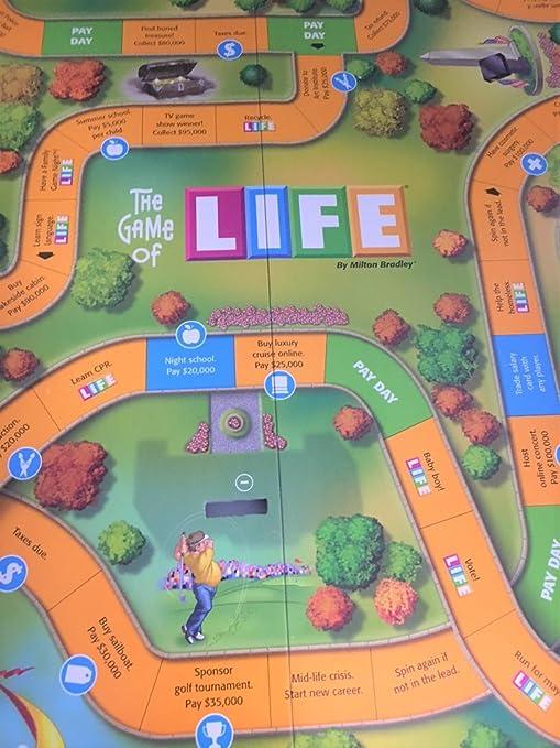 The Game of Life Piezas de Repuesto – clásico – Tablero de Juego de Repuesto: Amazon.es: Juguetes y juegos