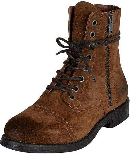 Replay Donald Broncearse Hombres Mid Tobillo Gamuza Army Botas: Amazon.es: Zapatos y complementos