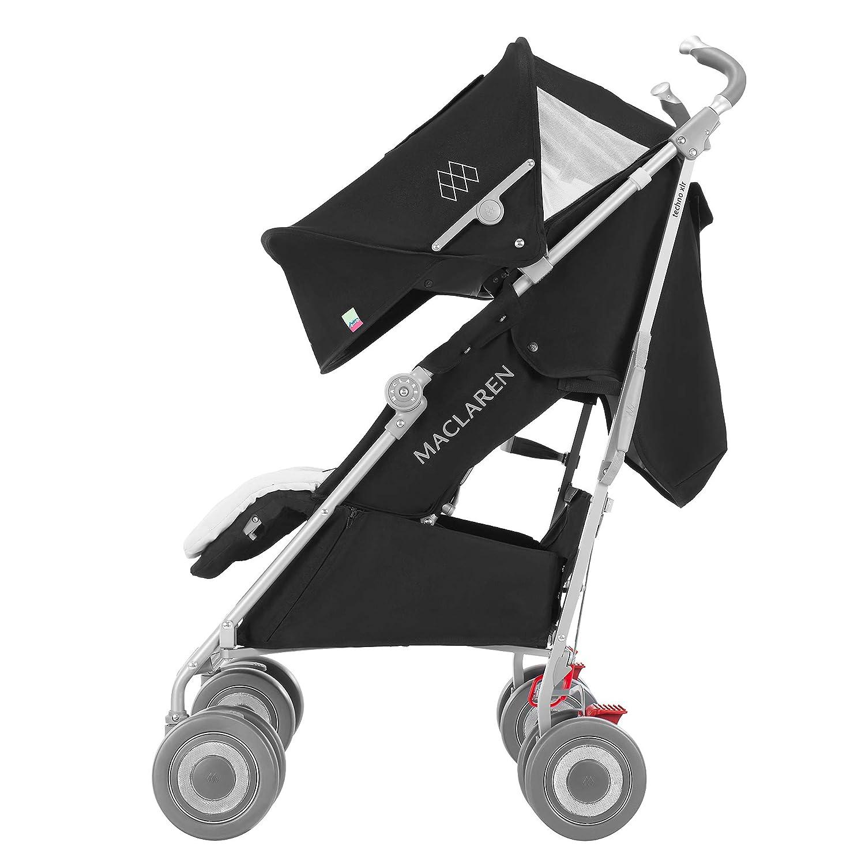 Maclaren Techno XLR - Silla de paseo, color negro/plata