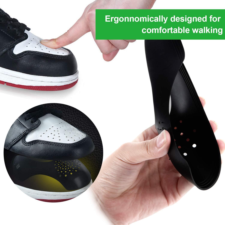 MU Bouclier Chaussures Anti-Rides /Évitent Pli de Chaussures Sneaker de Sport