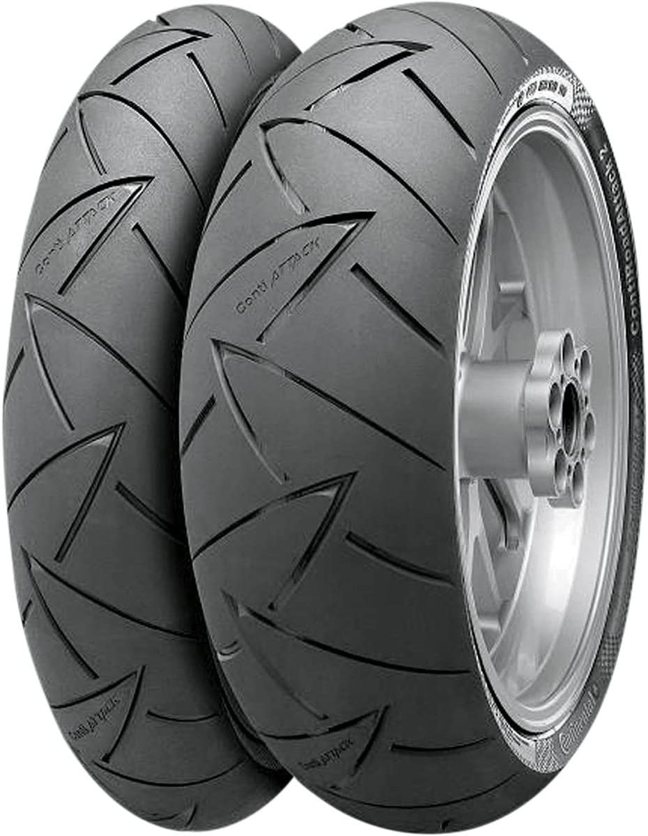 120//70ZR-18 Conti Road Attack2 Hyper Sport Touring Radial Front Tire