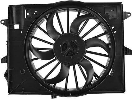 Radiador de refrigeración ventilador conductor izquierda LH para ...