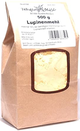 3 x 500g Winkler Mühle - Lupinenmehl: Amazon.de: Lebensmittel & Getränke
