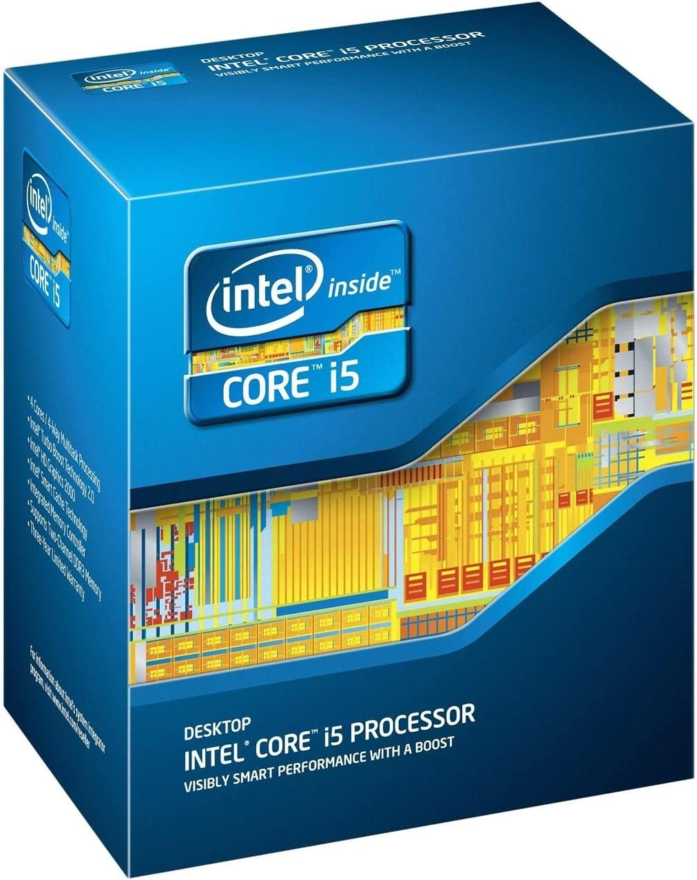 Intel Core i5-4430 Quad-Core Desktop Processor 3.0 GHz 6 MB Cache LGA 1150 - BX80646I54430 (Renewed)