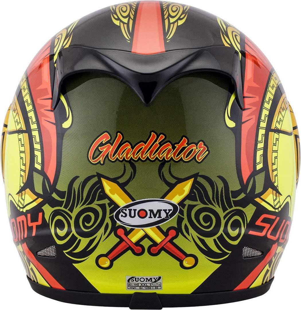 L Suomy Casco Apex Gladiator Grafica