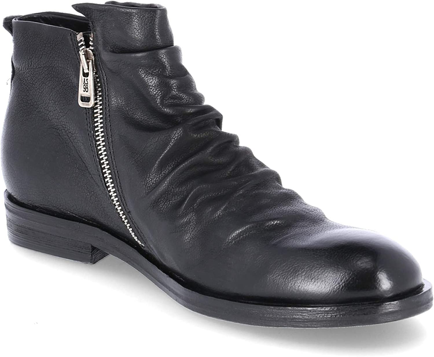 A.S. 98 490212 Men's Boots in Black Leather Black