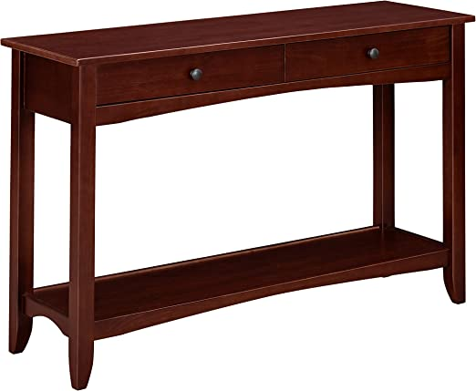 Amazon.com: Ravenna Home Dora - Mesa auxiliar de madera para ...