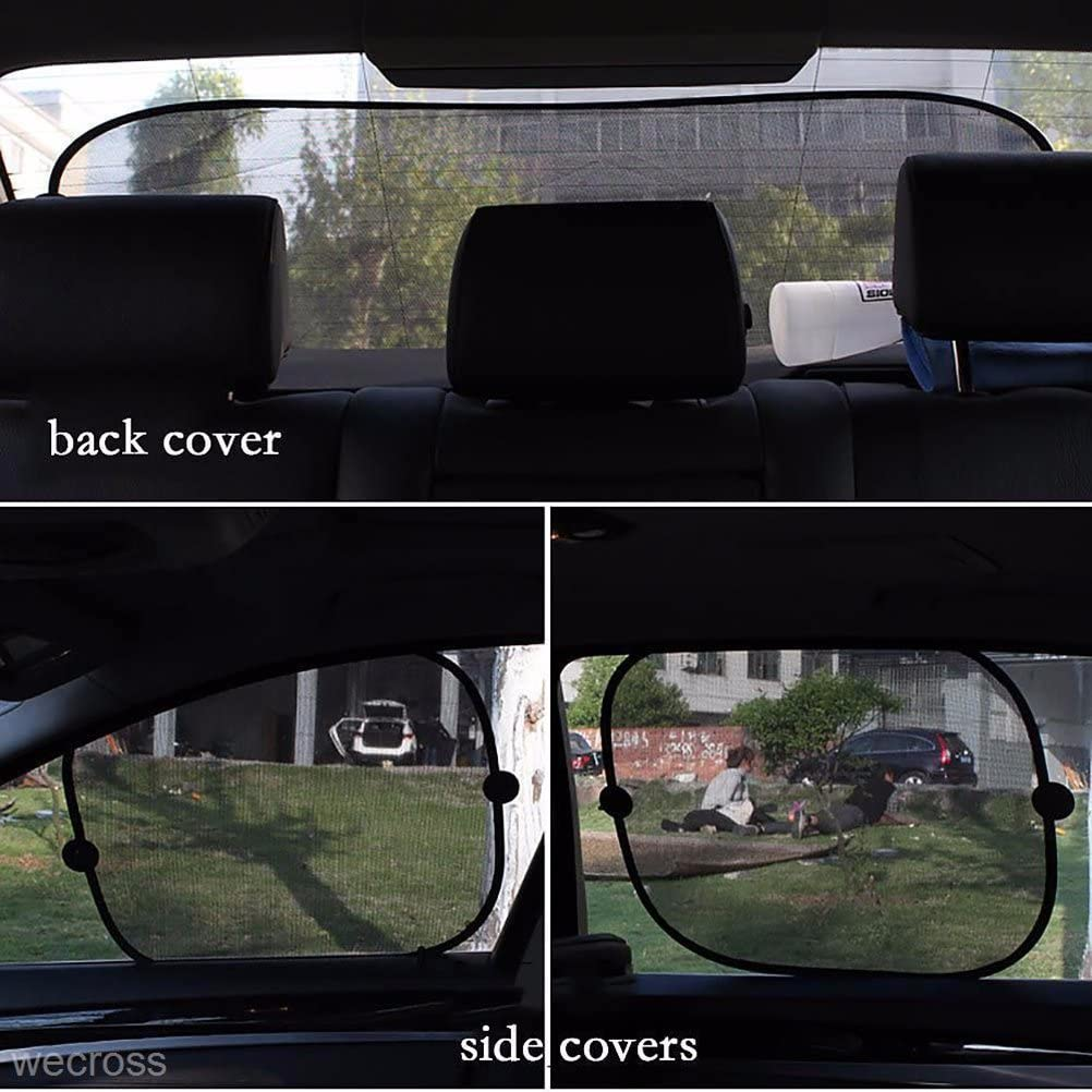 Car Sun Shade Protect Your Baby in The Back Seat from Sun Glare Car Window Shades for Baby 5 Pack LIOOBO Car Window Shade