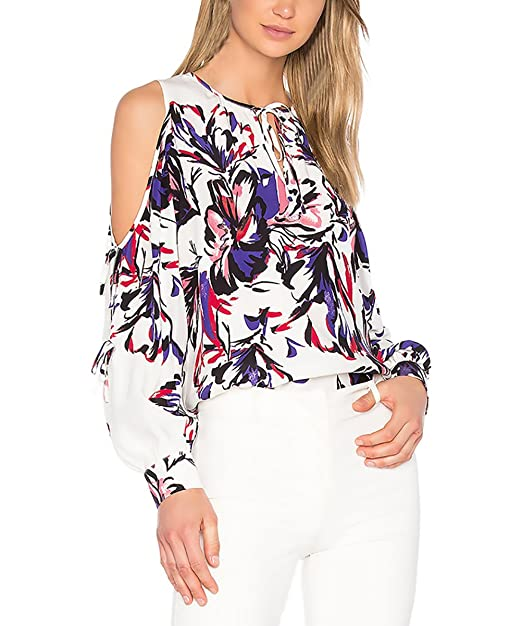 Moda blusas con flores