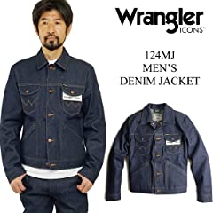 Wrangler 124MJ WM1724: Dark Wash