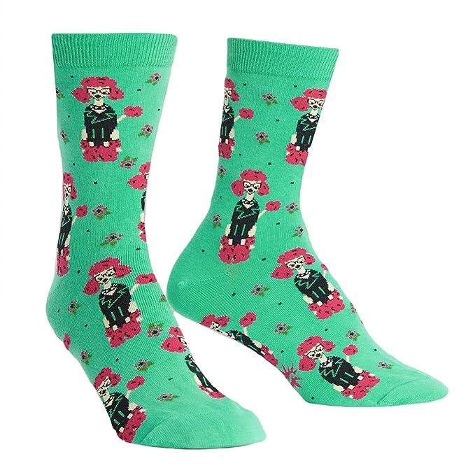 Sock It To Me Calcetines mujer Punk Poodle - Divertido Calcetines mujer con Caniche Perro Tallas gr.37-42 talla única: Amazon.es: Ropa y accesorios
