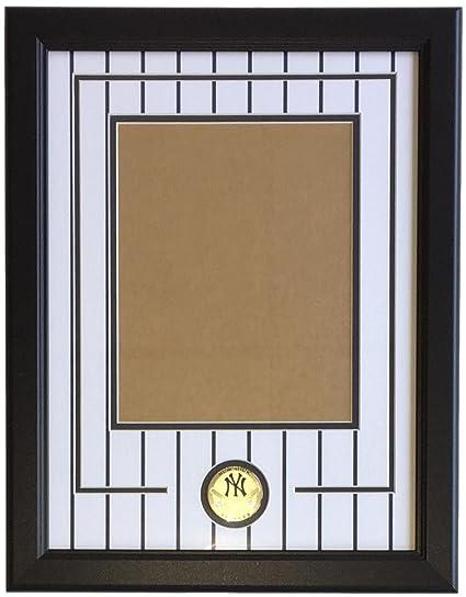New York Yankees 8x10 Vertical Photo Pinstripe Frame Kit At Amazons