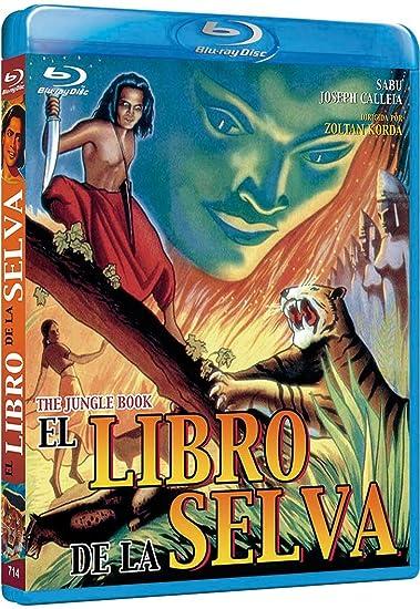 El libro de la selva 1942 [Blu-ray]: Amazon.es: Sabu