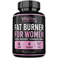 Weight Loss Pills for Women [Diet Pills for Women ] The Best Fat Burners for Women - This Thermogenic Fat Burner is a Natural Appetite suppressant & Metabolism Booster Supplement