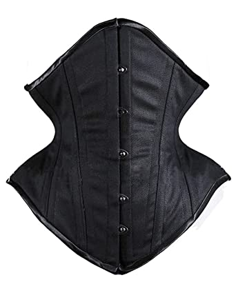 402eebd59c9 DeepTwist Women s Waist Trainer Corset 26 Steel Boned Heavy Duty Body Shaper  for Weight Loss  Amazon.co.uk  Clothing
