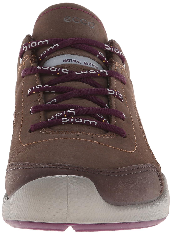 ECCO Biom Hybrid Walk - Zapatillas para mujer, color Coffee/Espresso/Burgundy, talla 40