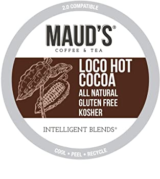 Maud's Dark Hot Chocolate K-Cups