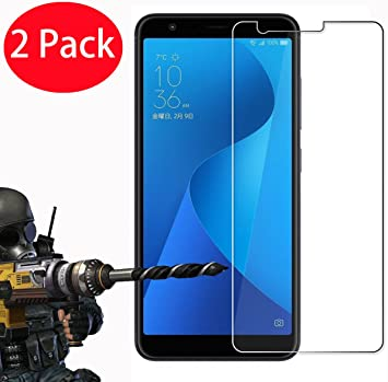 ZHXMALL [3 Pièces] ASUS ZenFone Max M1 ZB555KL Protection d