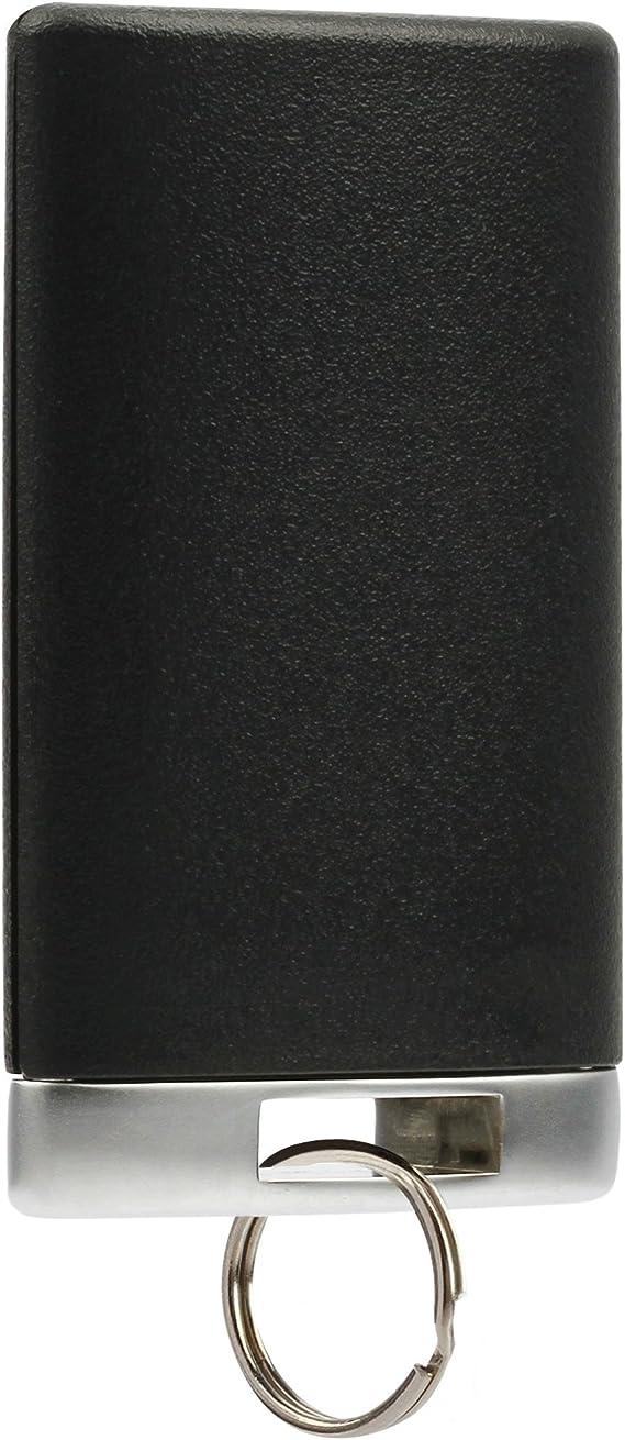 Key Fob Keyless Entry Smart Remote Shell Case /& Pad fits Cadillac 2007-2014 Escalade