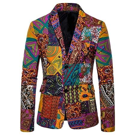 GongzhuMM - Chaqueta de disfraz para hombre de algodón y lino ...