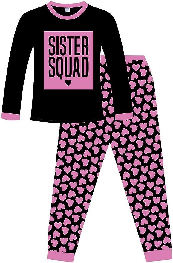 Pijama de algodón con diseño de corazón para niñas: Amazon.es: Ropa y accesorios