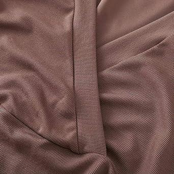 Kimodo damska sukienka z głębokim dekoltem w szpic, rękawy 3/4, luźna, minisukienka, sweter, cienka, biznesowa, elegancka, na imprezę: Odzież