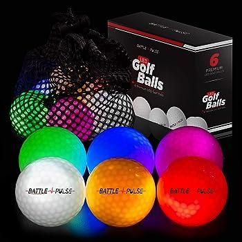 BattlePulse Glow Golf Balls