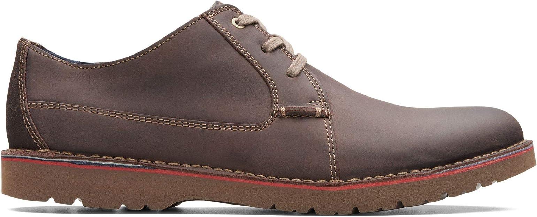 TALLA 43 EU. Clarks Vargo Plain, Zapatos de Cordones Derby para Hombre