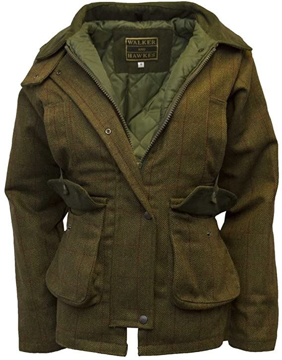 1940s Style Coats and Jackets for Sale Walker and Hawkes Womens Derby Tweed Shooting Country Jacket  AT vintagedancer.com
