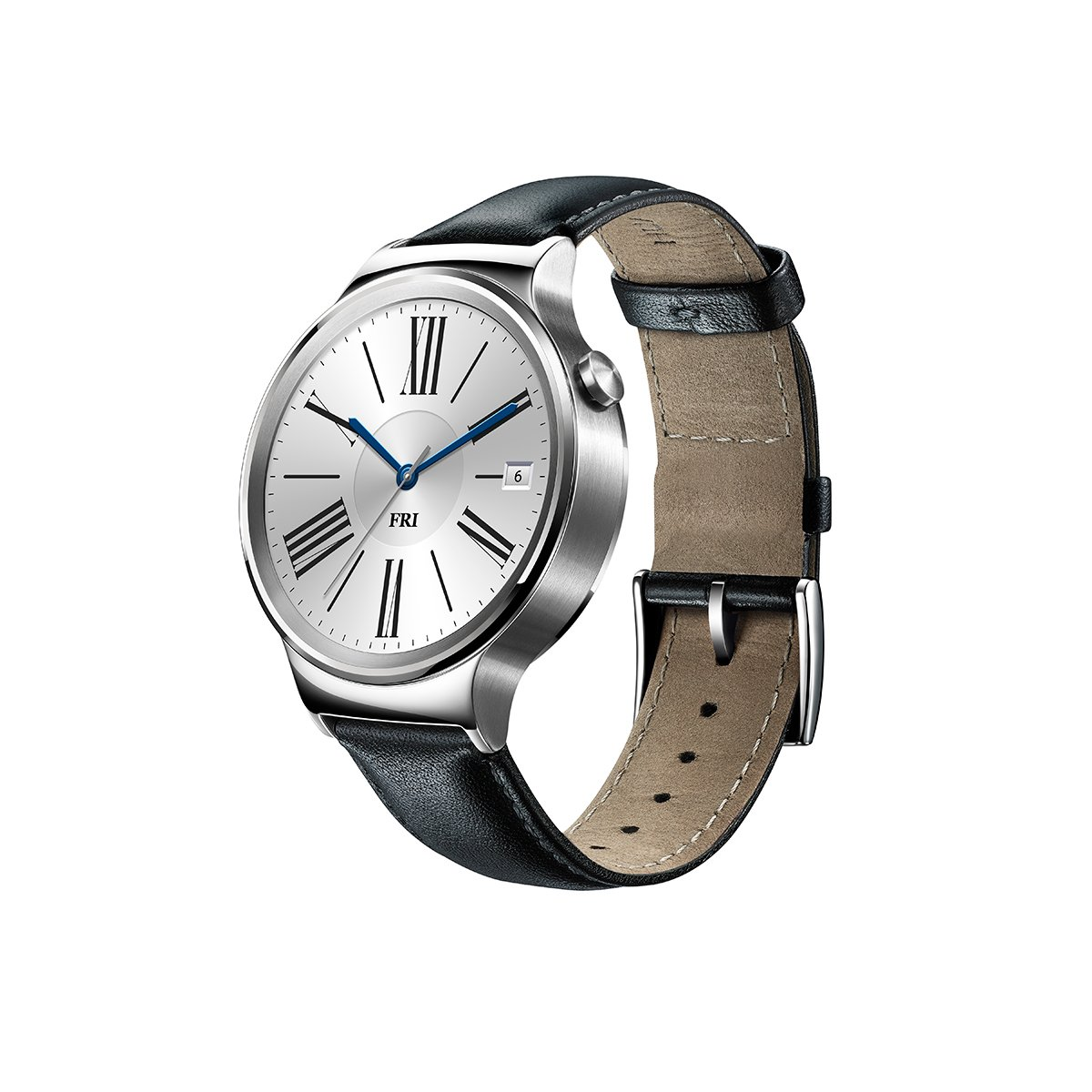 huawei smartwatch. amazon.com: huawei watch stainless steel with black suture leather strap (u.s. warranty): cell phones \u0026 accessories smartwatch m