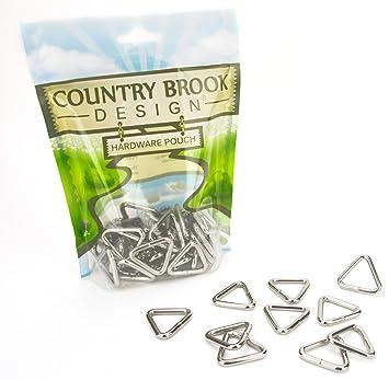 Amazon.com: País Brook diseño 1 inch Soldado Triángulo ...