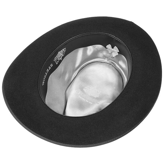 b58221eb920611 Stetson Stratoliner Classic Men´s Hat Fur Felt: Amazon.co.uk: Clothing