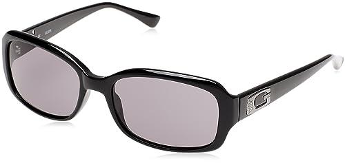 Guess GU7203_C33, Gafas de Sol para Mujer, Negro (Nero), 57