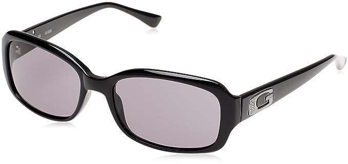 Guess Damen Sonnenbrille GU7263, Schwarz (Nero), 56