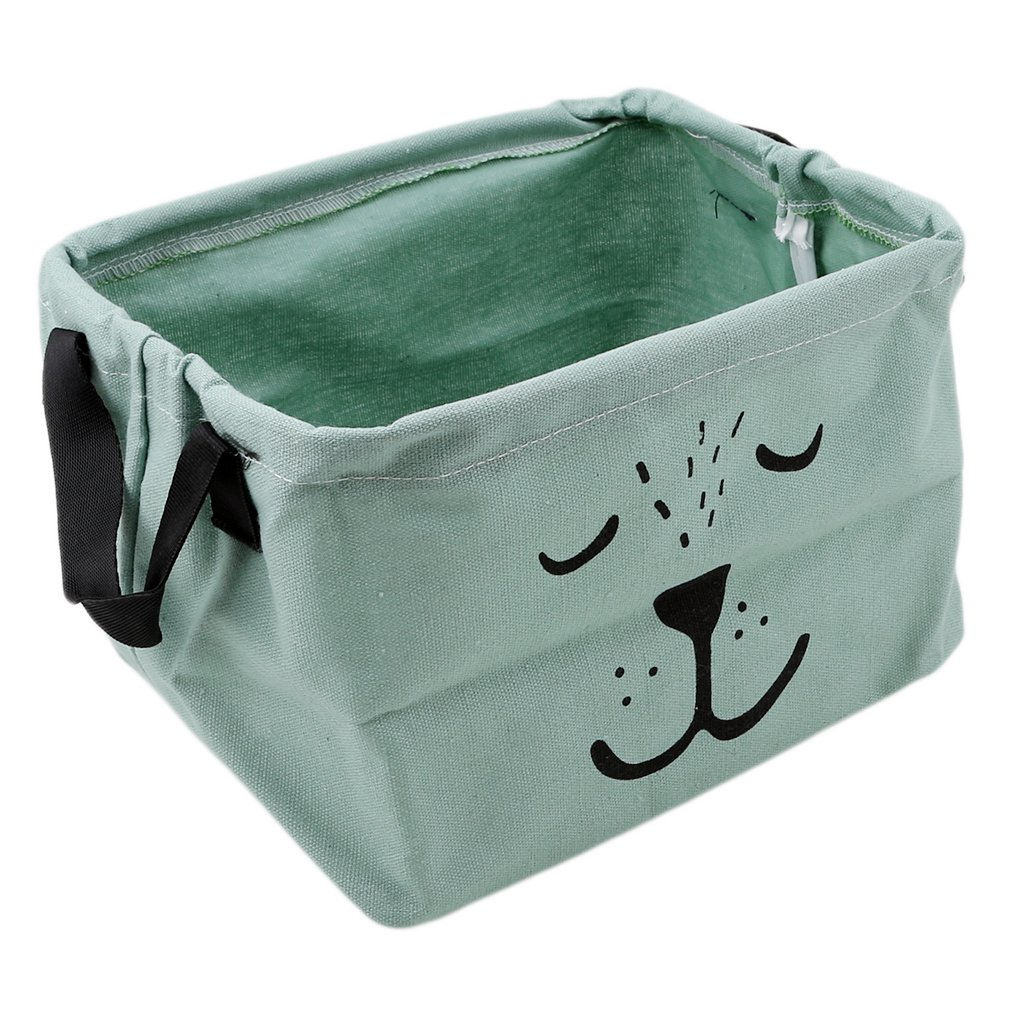 green Lalang Baby Toys Storage Basket Kids Bedroom Nursery Organizer Cubes